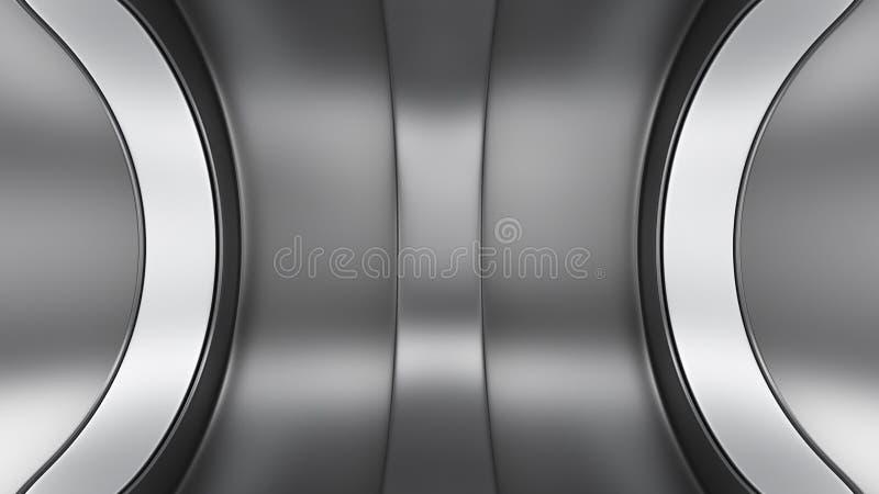 Stahlhintergrund lizenzfreie abbildung