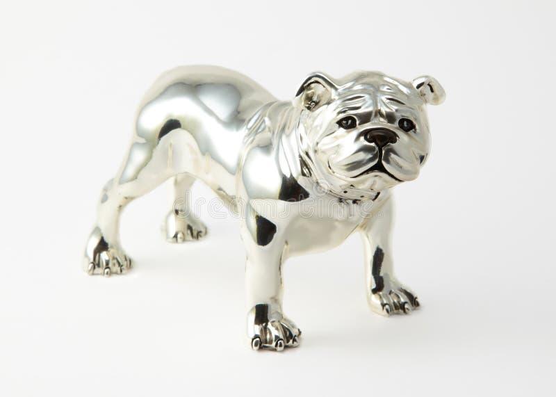 Stahlhundefigürchen lizenzfreies stockfoto