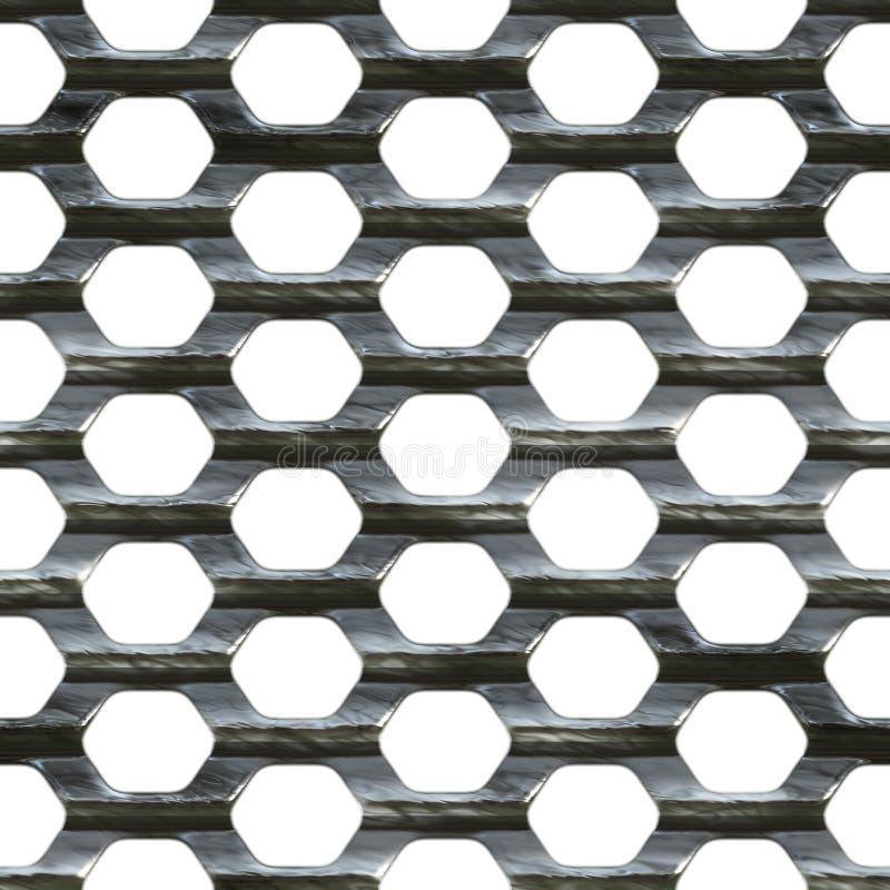 Stahlineinander greifen vektor abbildung