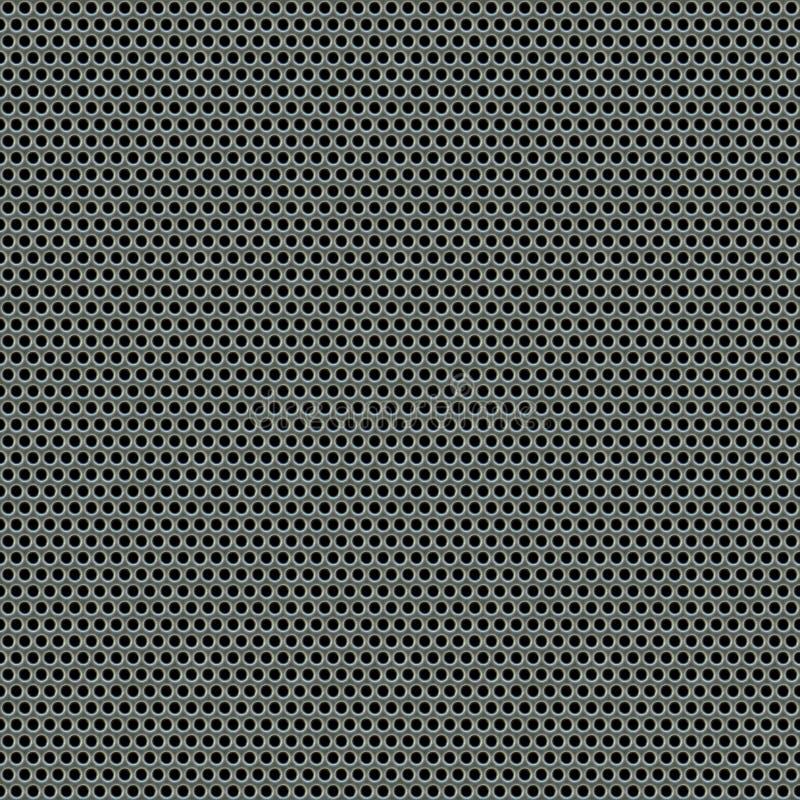 Stahlineinander greifen-Muster lizenzfreie abbildung