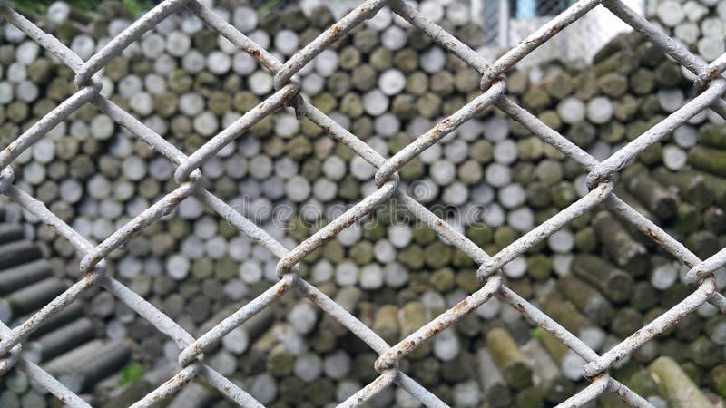 Stahlkäfige lizenzfreie stockfotos