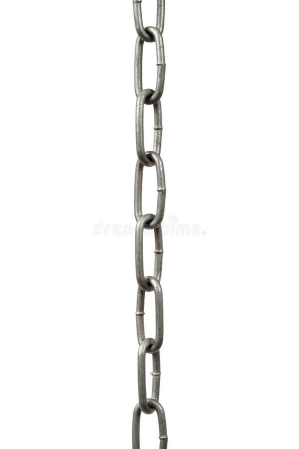 Stahlkettenhängen lizenzfreie stockbilder
