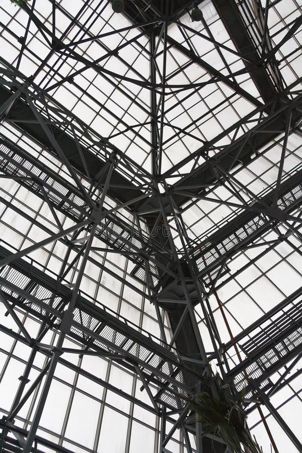 Stahlkonstruktion stockfoto