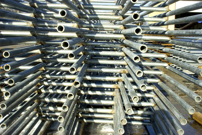 Stahlpanels lizenzfreies stockbild