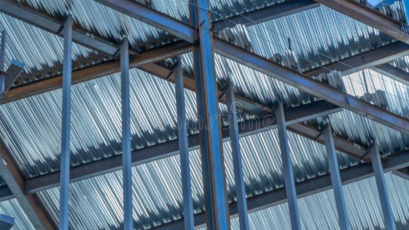 Stahlrahmen lizenzfreies stockfoto