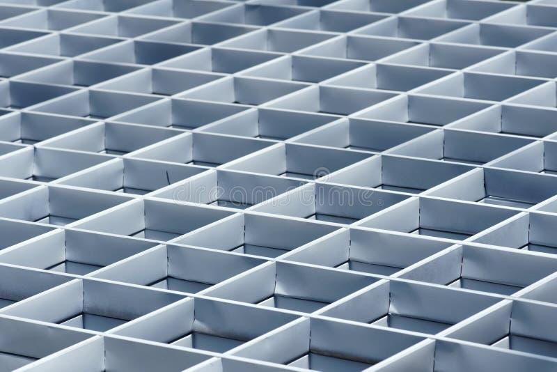 Stahlrasterfeldstruktur stockfotografie