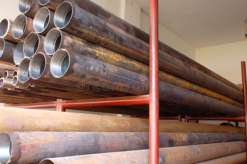 Stahlrohre lizenzfreies stockbild