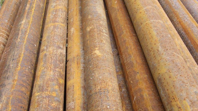 Stahlrohre industriell lizenzfreie stockfotografie