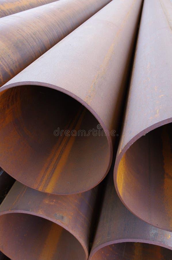 Stahlrohrleitungen lizenzfreies stockfoto