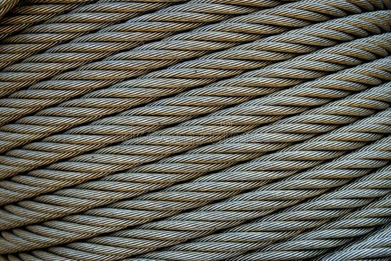 Stahlseilzug-Diagonale stockfotografie