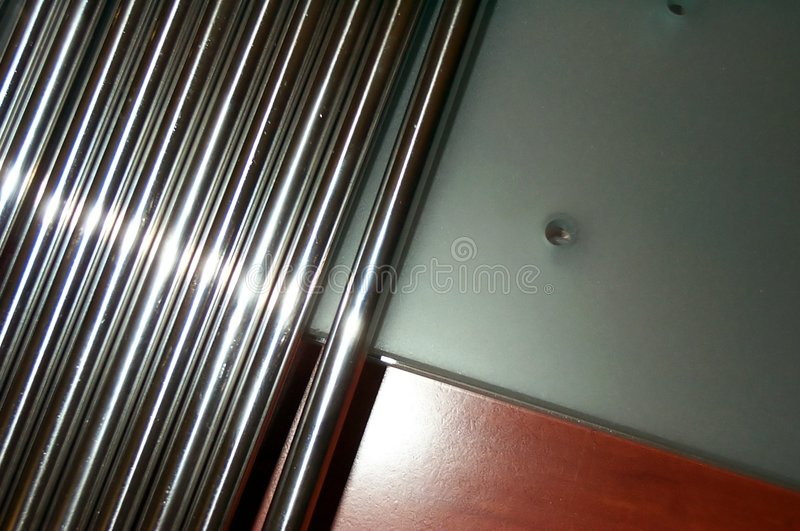 Stahlstabkonzept lizenzfreie stockfotos