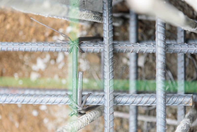 Stahlstange für Pour der Strahl stockbilder
