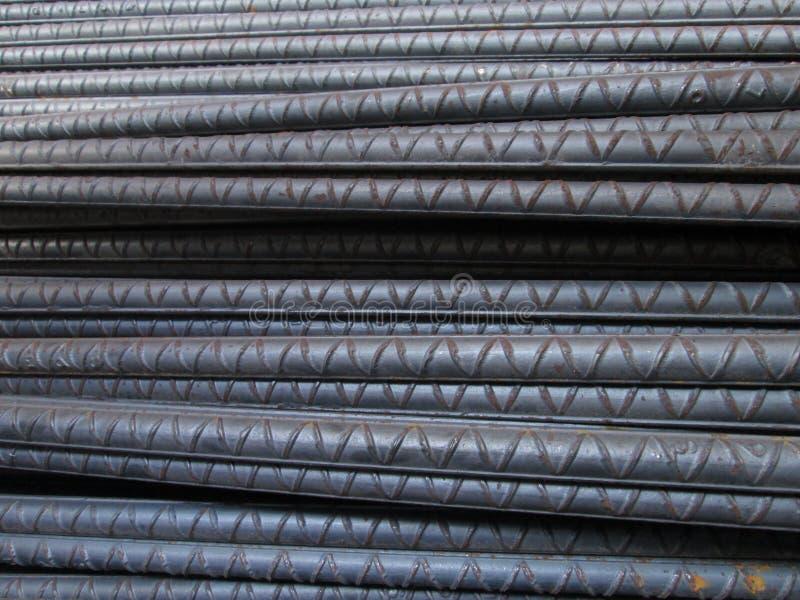 Stahlstangen lizenzfreies stockbild