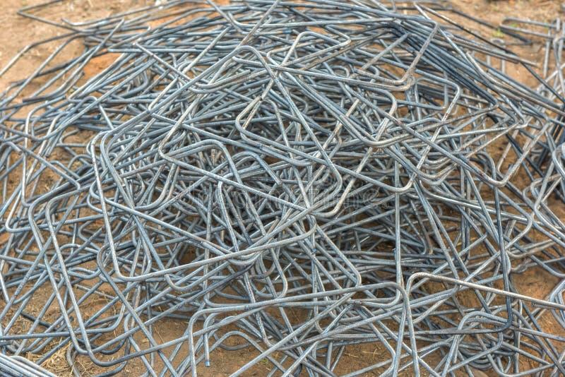 Stahlstangenstangen lizenzfreie stockfotos