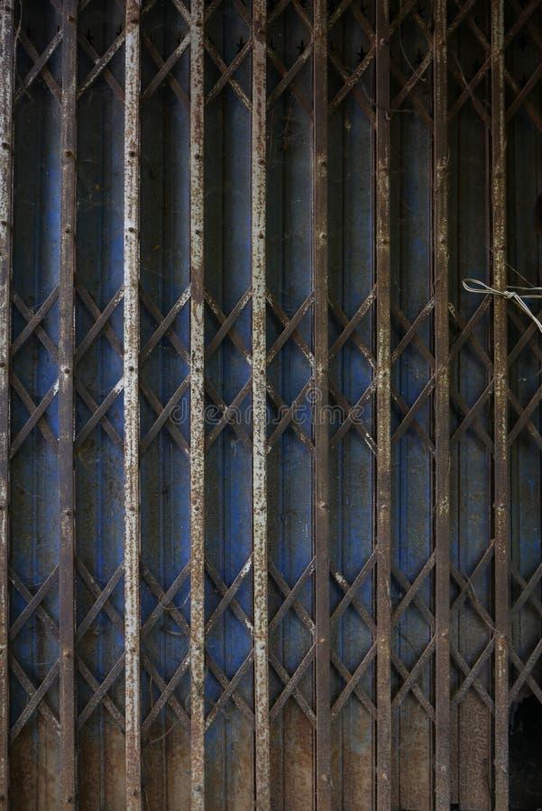 Stahltür lizenzfreies stockbild