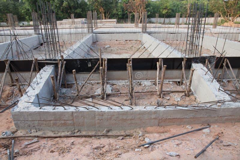 Stahlverstärkungsstange stockbild