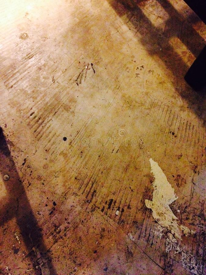 stain on cement royalty free stock photography