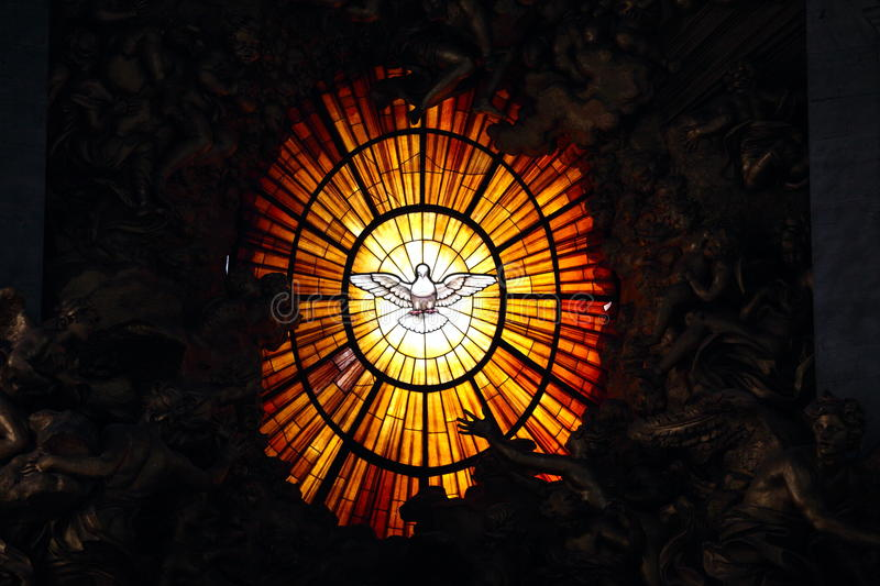 Download Stain glass stock image. Image of relegious, angel, catholicism - 28157291