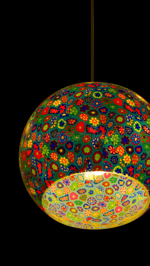 Free Stain Glass Lamp Royalty Free Stock Image - 11681026