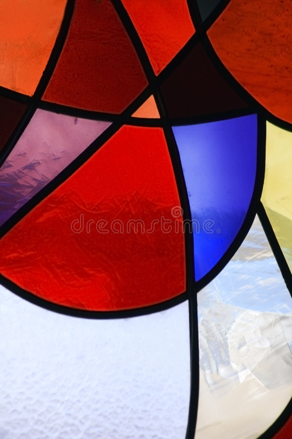 Stained Glass 1 stock image