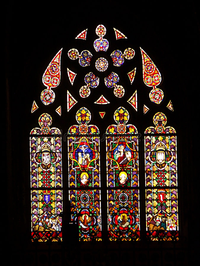 Download Stained glass stock photo. Image of stock, colors, catholic - 169274