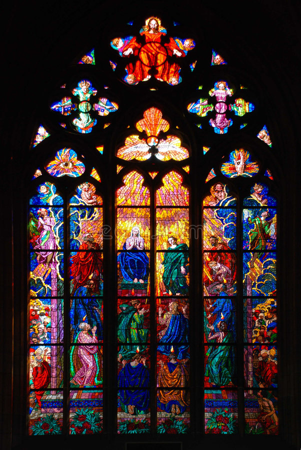 Stained-glass_4 lizenzfreie stockfotos