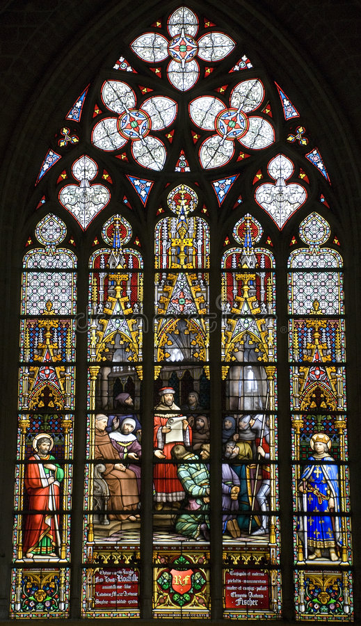 Download Stained glass stock image. Image of sunlight, glass, window - 8513675