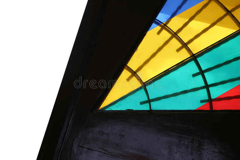 Stained glass. Door stock images
