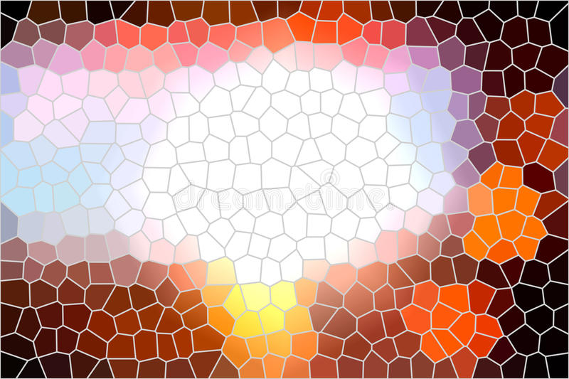 Stained glass background stock image