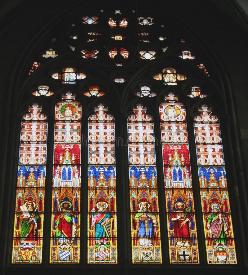 Download Stained Glass Dom Cathedral Stock Image - Image: 3373943
