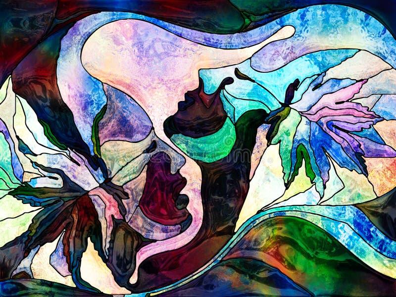 Download Unfolding Of Color Division Stock Illustration - Illustration of creative, design: 105145320