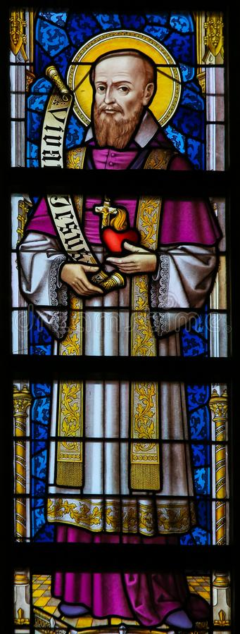 Free Stained Glass - Francis Xavier Stock Images - 128789384