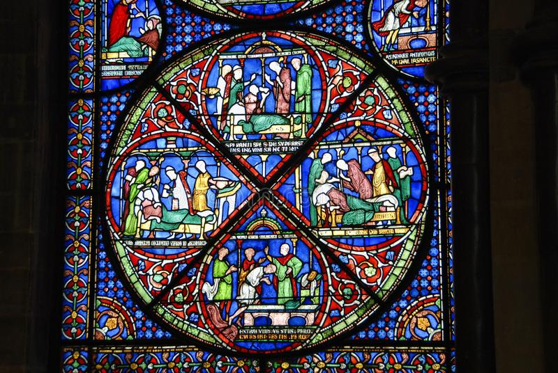 Stained Glass, Glass, Window, Material Free Public Domain Cc0 Image