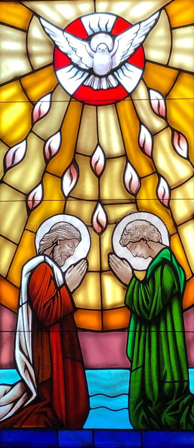 Pentecost stock image