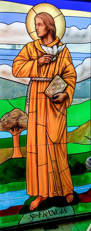St Francis of Assisi royalty free stock image
