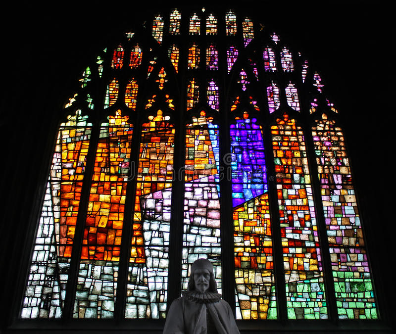 Download Stained Glass In Manchester Cathedral Stock Photo - Image: 21612502