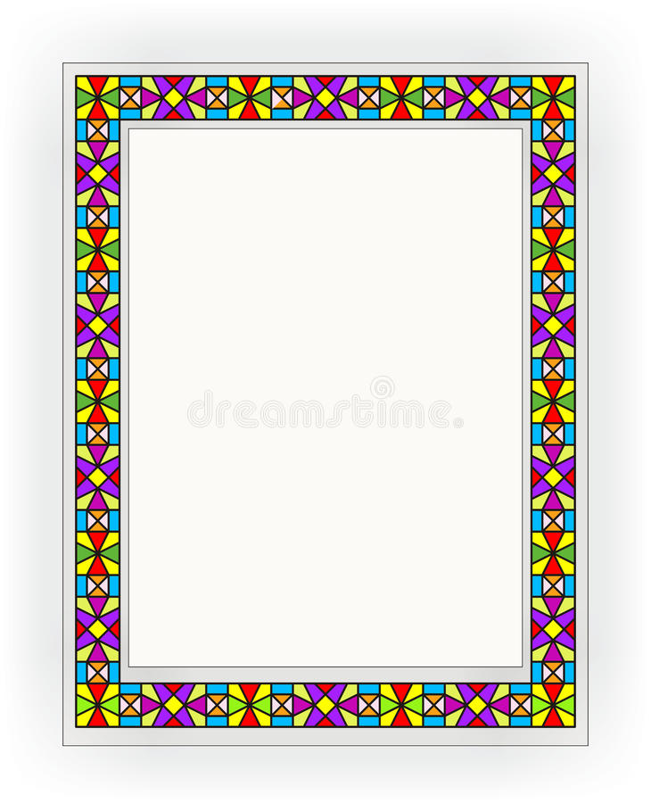 Stained-glass Window 006 Royalty Free Stock Photo