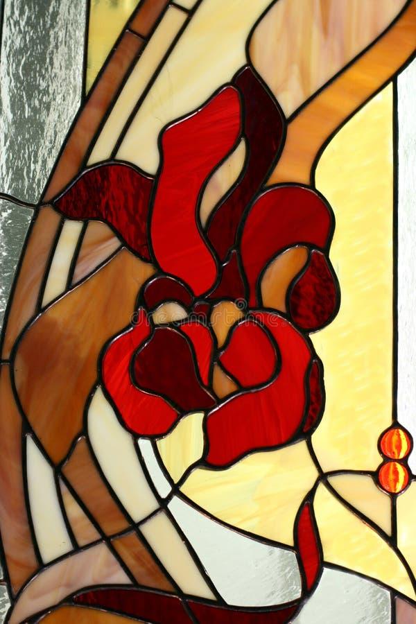 Stained-glass window. Stained glass window like background stock photography