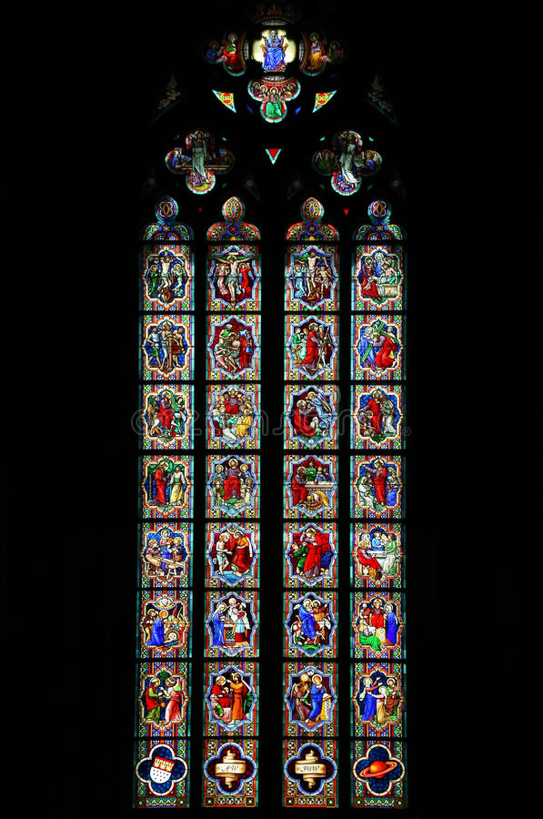 Download Stained-glass window stock photo. Image of culture, jesus - 11389068