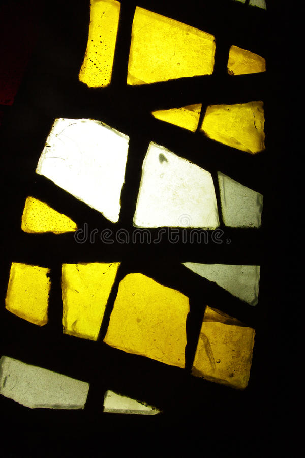 Stained glass window. Multicolored stained glass window, may be used as background royalty free stock photography