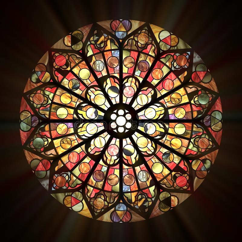 Free Stained Glass Window Stock Photos - 26648683