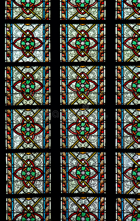Free Stained Glass Window Royalty Free Stock Photo - 46472095