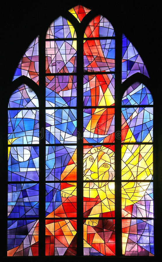 Stained-glass Window 6 stock photography