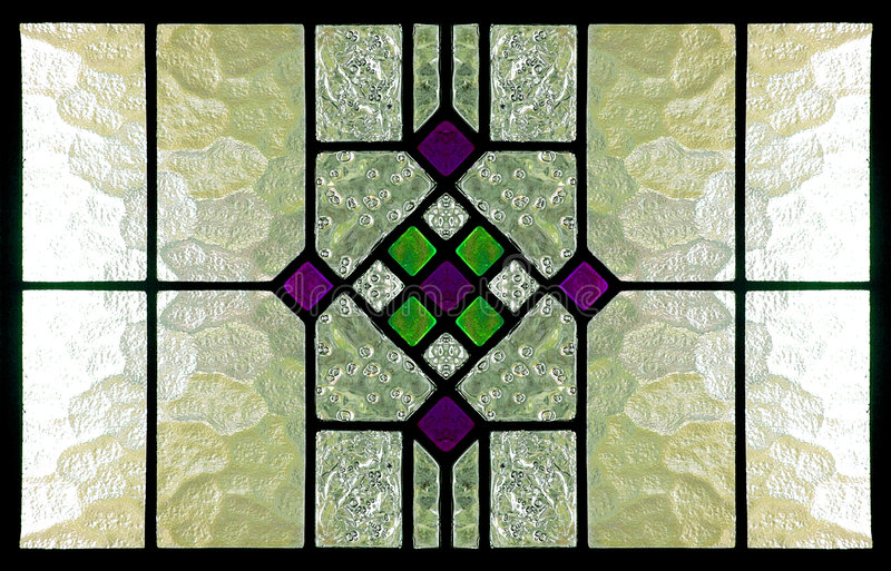 Stained Glass Window. Old school stained glass window, perfected with the aid of computer re-touching. High res stock images
