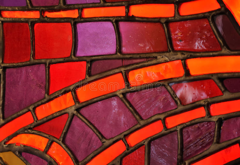 Stained glass window - church. Detail - background royalty free stock photos