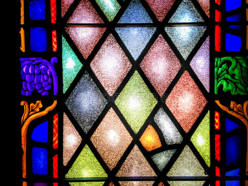 Download Stained Glass Window In Church
