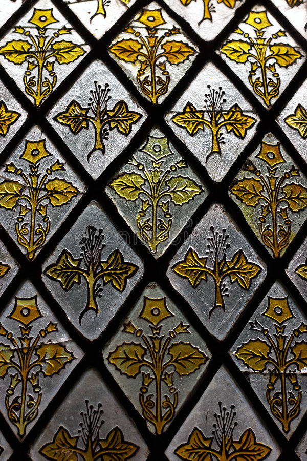 Free Stained Glass Window Detail Stock Image - 3244951