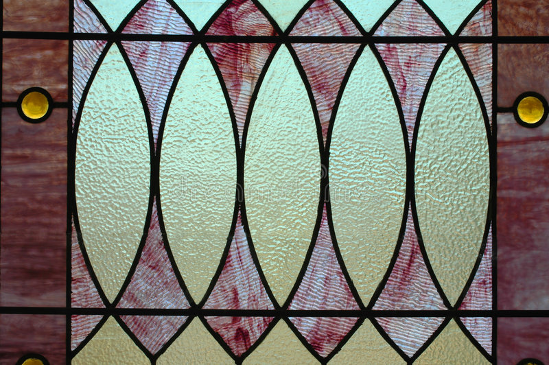 Download Stained Glass WIndow II stock image. Image of high, geometric - 1989187