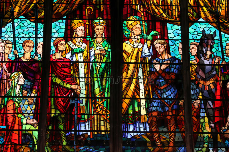 Stained-glass Window Editorial Photography. Image Of