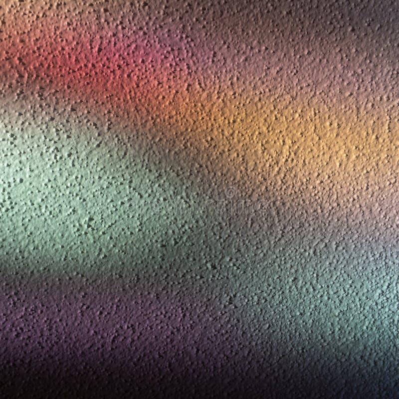 Colored light reflections create beautiful pattern stock photo